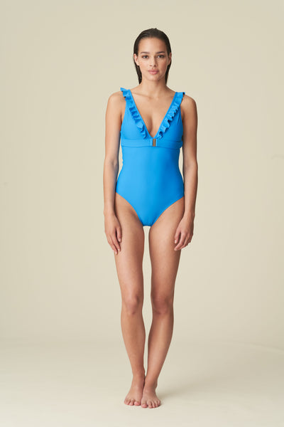 Aurelie V front One Piece Swimsuit