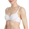Avero Non Padded Bra | White