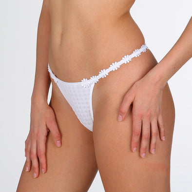 Avero G String | White