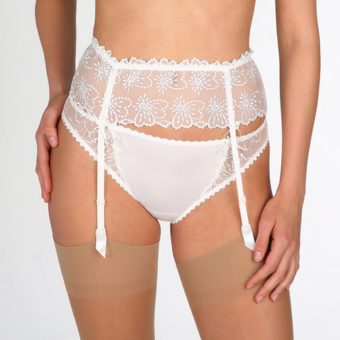 Marie Jo JANE Garter Belt | Natural