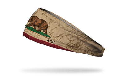 California State Flag Map Headband