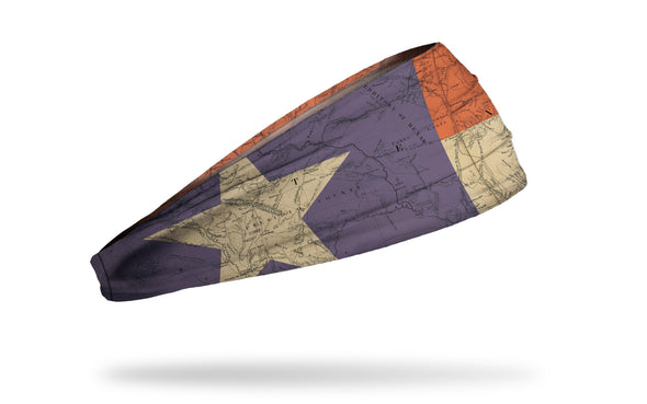 Texas State Flag Map Headband