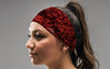 Ruffled Roses Headband