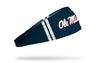 University of Mississippi: Ole Miss Stripes Navy Headband