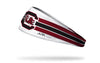 University of South Carolina: Gamecocks Stripes White Headband