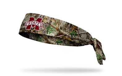Mississippi State University: Logo Realtree Edge Tie Headband