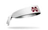 Mississippi State University: Logo White Tie Headband
