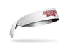 Mississippi State University: Wordmark White Tie Headband