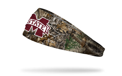 Mississippi State University: Logo Realtree Edge Headband