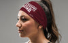 Mississippi State University: Wordmark Maroon Headband