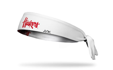 University of Nebraska: Huskers White Headband