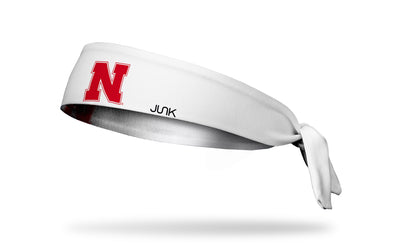 University of Nebraska: Logo White Headband