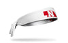 University of Nebraska: State White Tie Headband