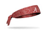 University of Alabama: Crimson Static Logo Tie Headband