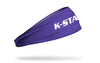 Kansas State University: Wordmark Purple Headband