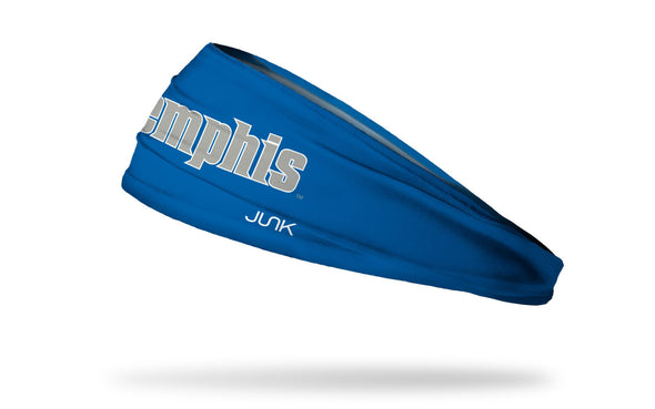 University of Memphis: Wordmark Royal Headband