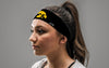 University of Iowa: Tiger Hawk Black Tie Headband
