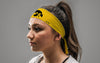 University of Iowa: Tiger Hawk Gold Tie Headband