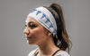 Caduceus (Blue) Headband