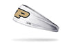 Purdue University: Logo White Headband