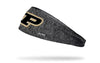 Purdue University: Logo Gray Heathered Headband