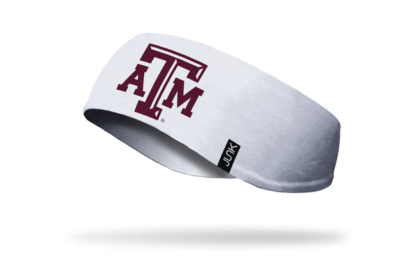 Texas A&M University: Logo White Ear Warmer