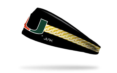 University of Miami: Turnover Chain Headband