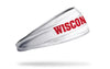 University of Wisconsin: On Wisconsin White Headband
