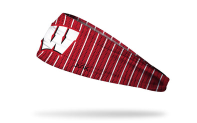 University of Wisconsin: Bucky's Sweater Headband