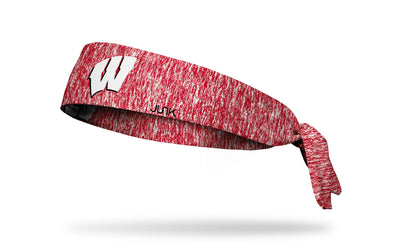 University of Wisconsin: Logo Heathered Tie Headband