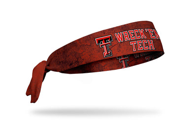 Texas Tech University: Wreck 'Em Tech Tie Headband