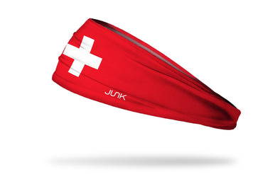 Switzerland Flag Headband