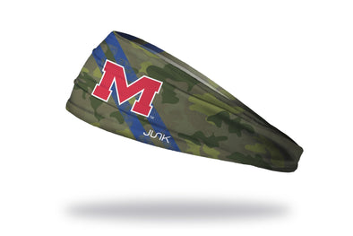 University of Mississippi: Ole Miss Camo Headband