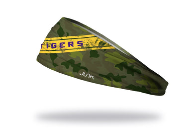 Louisiana State University: LSU Camo Headband