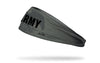 officially licensed United States Army grey headband