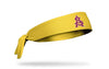Arizona State University: Baseball Gold Tie Headband