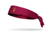 Arizona State University: Pitchfork Maroon Tie Headband