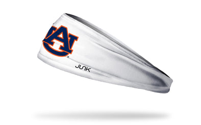Auburn University: Logo White Headband