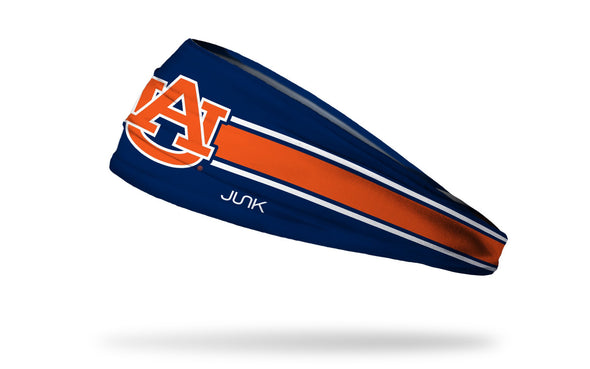 Auburn University: Navy Stripe Headband