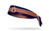 Auburn University: Navy Stripe Tie Headband
