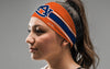 Auburn University: Orange Stripe Headband