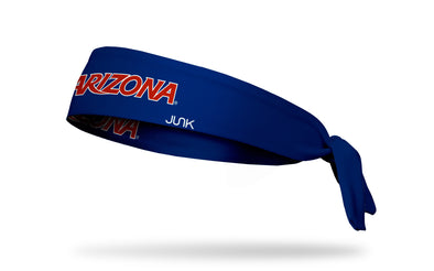 University of Arizona: Wordmark Navy Tie Headband
