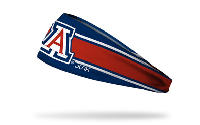 University of Arizona: A Logo Stripe Headband