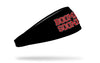University of Oklahoma: Boomer Sooner Black Headband