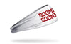 University of Oklahoma: Boomer Sooner White Headband