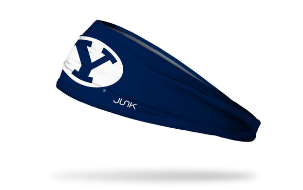 Brigham Young University: Y Logo Navy Headband