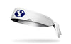 Brigham Young University: Y Logo White Tie Headband