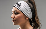 California Monochrome Flag Headband