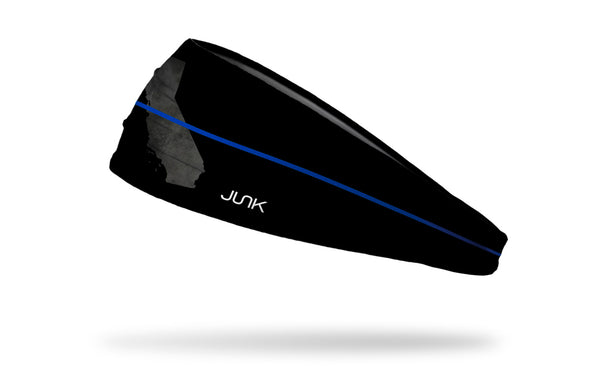California Thin Blue Line Headband