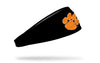 Clemson Tigers: Logo Black Headband